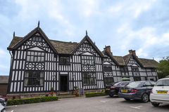 Old Hall Half Timbered Building in the market town of Sandbach England Royalty Free Stock Photography