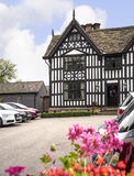 Old Hall Half Timbered Building in the market town of Sandbach England Royalty Free Stock Photo