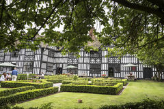 Old Hall Half Timbered Building in the market town of Sandbach England Stock Photos