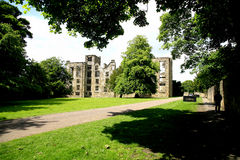 The Old Hall, Hardwick, Derbyshire. Stock Image