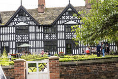 Old Hall Hotel and pub in the Picturesque Town of Sandbach in South Cheshire England Stock Images