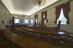 The Old Hall of the House of Delegates Royalty Free Stock Photo
