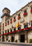 Old   hall in spanish city. Alicante, Spain Stock Image