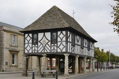Old Hall in Wootton Bassett. Wiltshire. England Stock Photography
