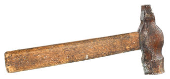 Old hammer. Royalty Free Stock Photo