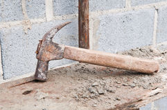 Old hammer Stock Photo