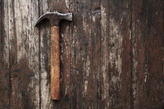 Old hammer Royalty Free Stock Image