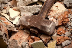 Old hammer Stock Photo