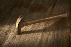 Old hammer Stock Photography