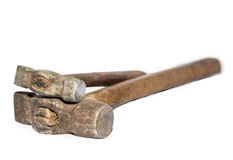 Old hammer Royalty Free Stock Images