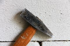 Old hammer Royalty Free Stock Photo