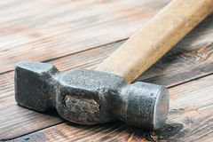 Old hammer Royalty Free Stock Photos