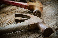 Old Hammers Stock Image