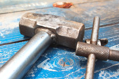 Old Hammers Stock Photos