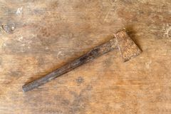 Old Hammers Royalty Free Stock Photography
