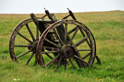 Old Hand Cart. A Old Hand Cart in Stoma, Caithness, Scotland UK Royalty Free Stock Photos