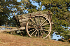 Old hand cart Stock Photo