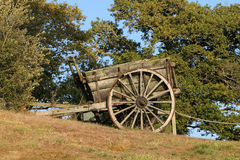 Old hand cart Stock Image