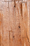Old Hand Cut Wood Plank Stock Image