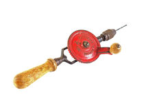 Old hand drill Stock Photography