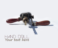 Old hand drill Royalty Free Stock Photo