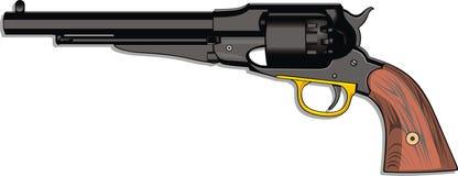 Old hand gun (pistol) Stock Photos