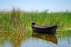 Old Hand Made Boat Stock Images