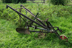 Old Hand Plough Stock Image