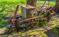 Old hand plough 2 Stock Photo
