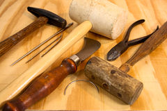 Old Hand Tools Royalty Free Stock Photos