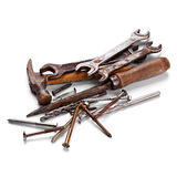 Old hand tools Stock Photography
