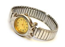 Old hand watch Stock Images