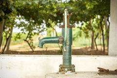 Old Hand water pump Stock Photos