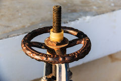 Old hand Wheel Stock Images