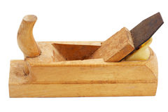 Old hand wooden plane Stock Photography