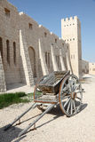 Old handcart at Sheikh Faisal Museum in Qatar Royalty Free Stock Image