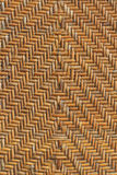 Old handcraft rattan weave Stock Photos