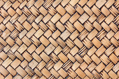 Old handcraft weave texture natural wicker Stock Photography