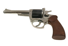 Old handgun revolver toy Stock Images