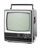 Old handheld television Stock Images