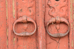 Old handles Royalty Free Stock Images