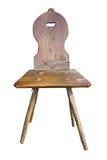 Old handmade chair Stock Photography