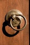Old Handmade ottoman door knob Stock Photos