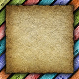 Old handmade paper background Stock Image