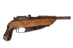 Old handmade shotgun Stock Images