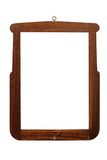 Old handmade wooden frame Royalty Free Stock Images