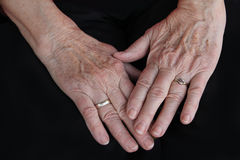 Old Hands Royalty Free Stock Photos