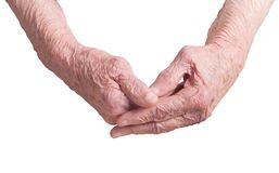Old hands Royalty Free Stock Image