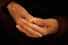 Old Hands Royalty Free Stock Photography