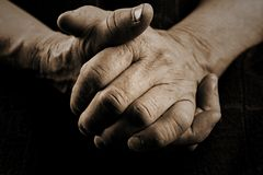 Old Hands Stock Image